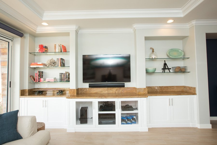 entertainment-center-white-frameless-custom-cabinet