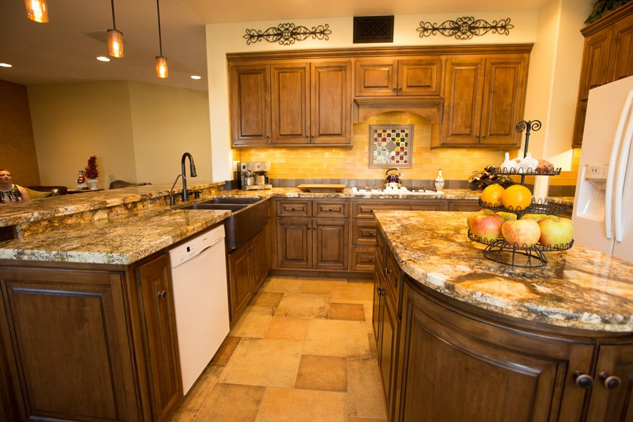 granite-island-kitchen-custom-cabinets