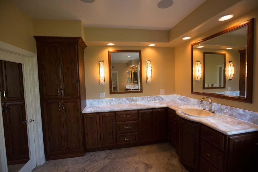 Custom Coto De Caza, Master Bathroom Orange County