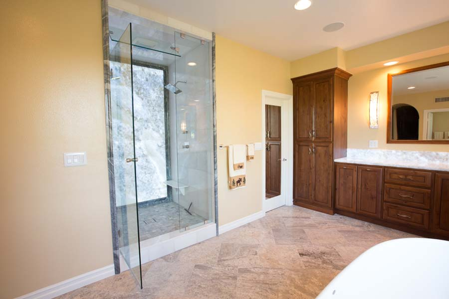 Custom Coto De Caza, Master Bathroom Riverside CA