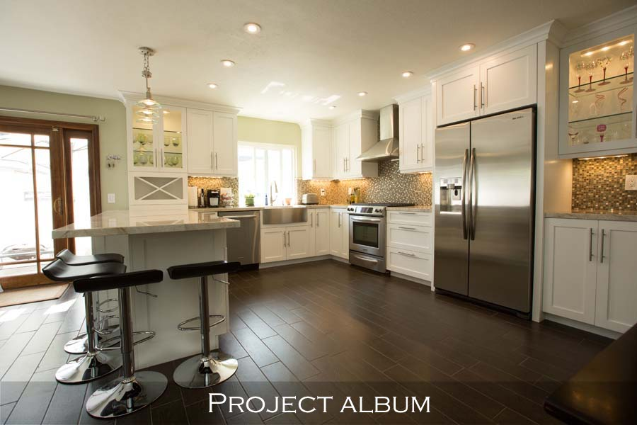 Frameless-Custom-Cabinets-White-Kitchen-Durstan