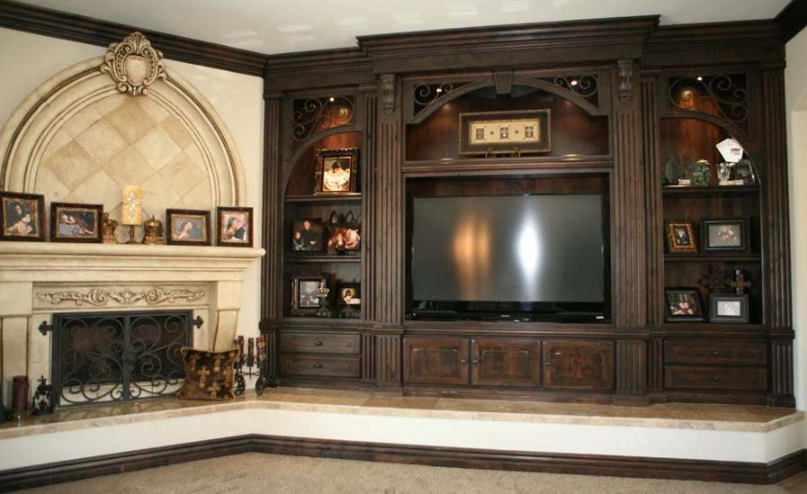 Custom-Furniture-Style-Cabinets-Entertainment-Center-2013-10