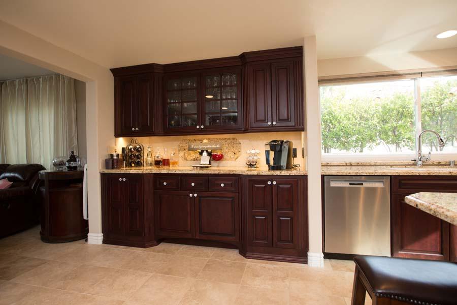 Custom Frameless Contemporary Kitchen Cabinets_SM | Haynes ...