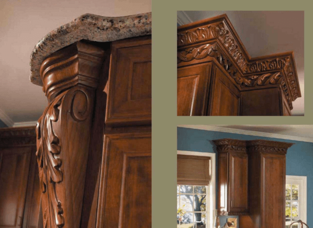 custom cabinet treatment